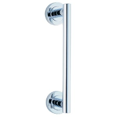 225mm Straight Pull Handle Polished Chrome