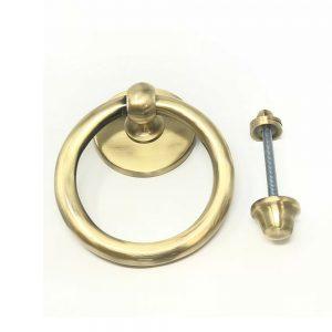 Ring Door Knocker Antique Black