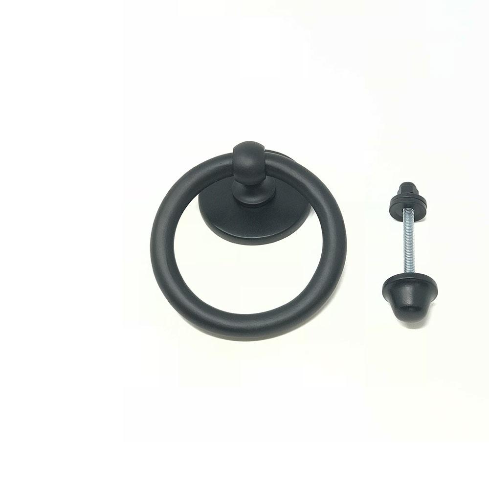 Ring Door Knocker Black
