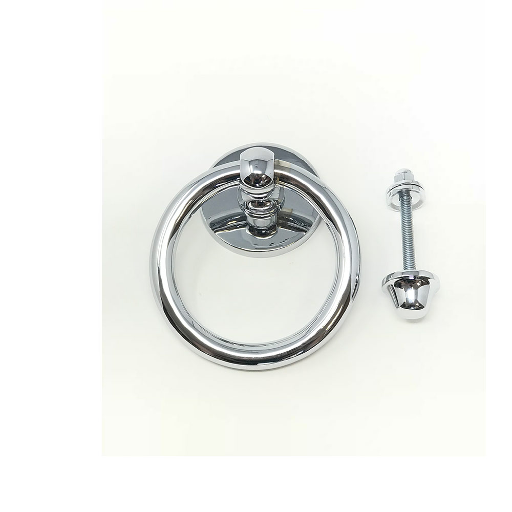 Ring Door Knocker Polished Chrome