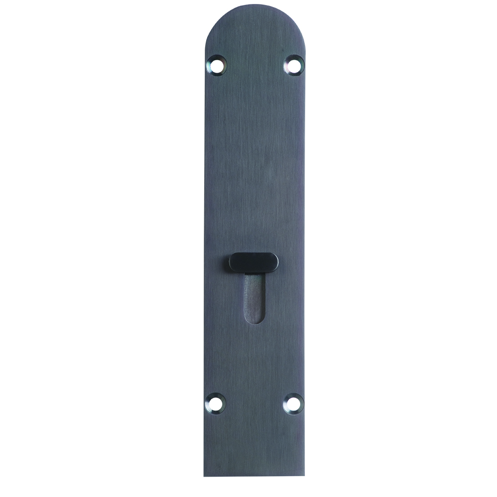 Folding Door Drop Bolt Black