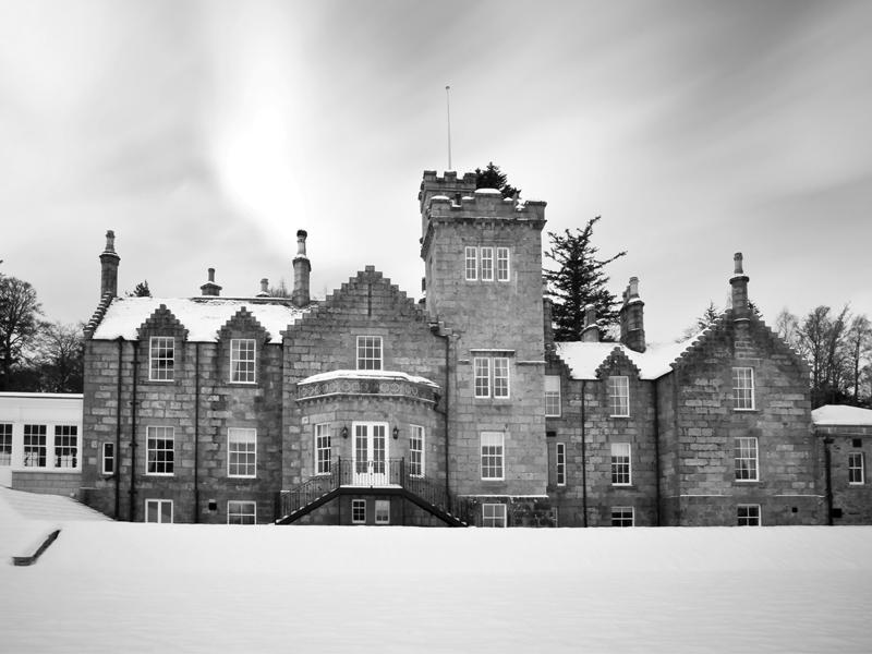 Glentruim Castle Listed Building Windows