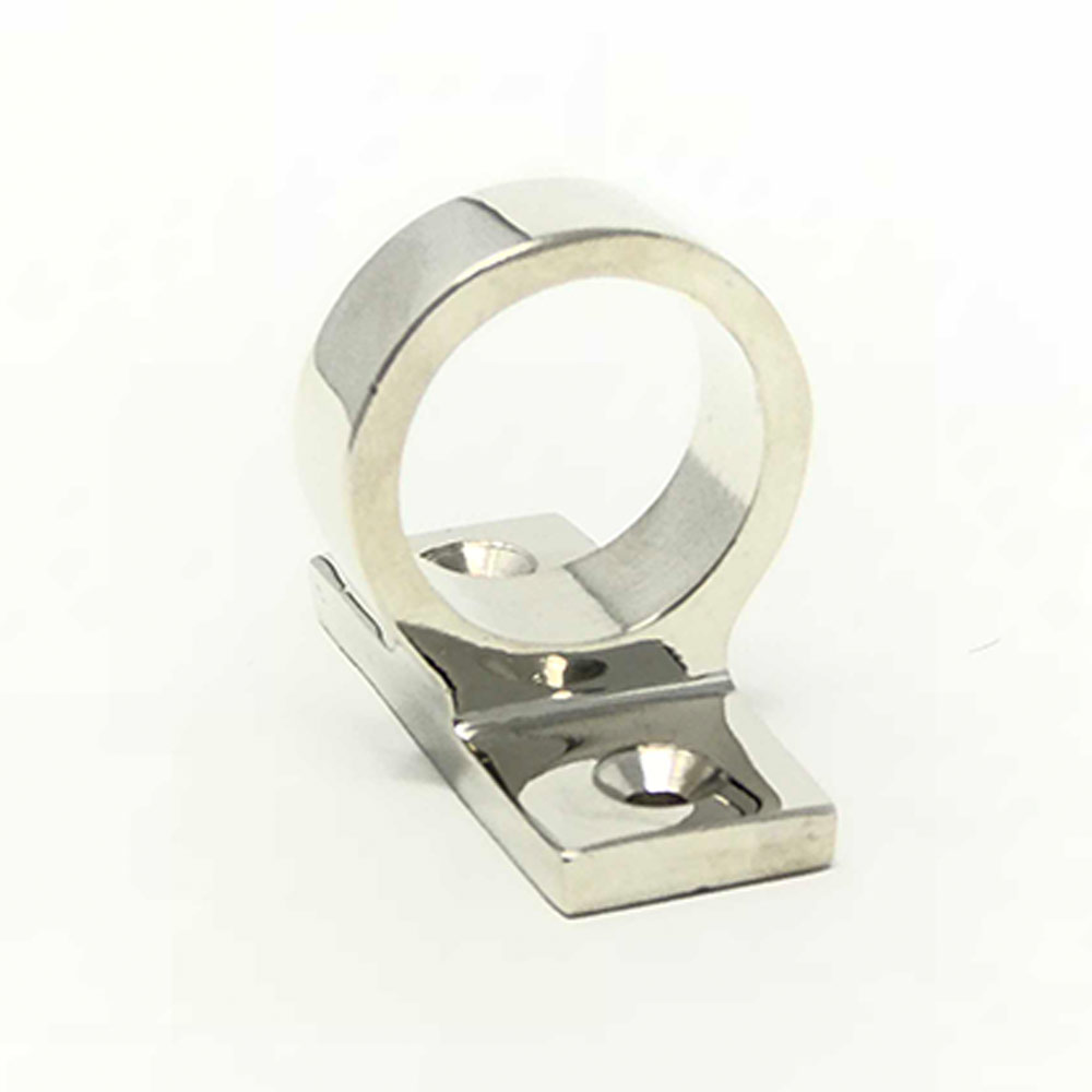 Sliding Sash Ring Lift Polished Chrome