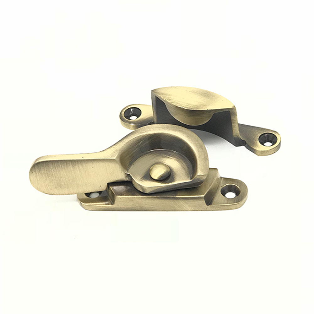 Fitch Fastener Antique Brass