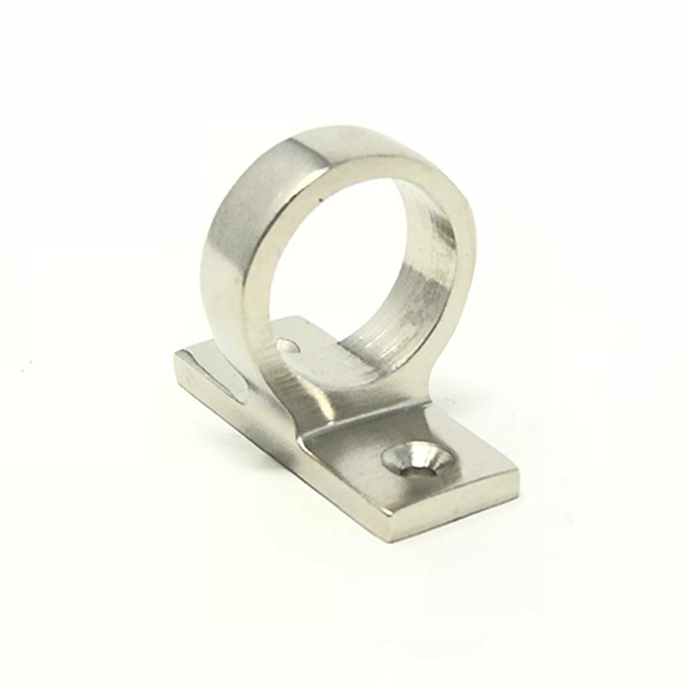 Sliding Sash Ring Lift Satin Nickel