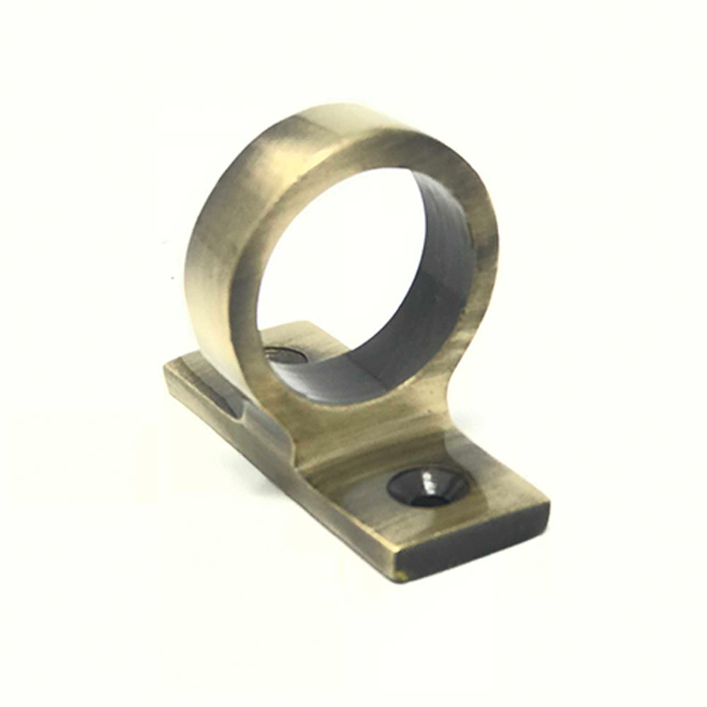 Sliding Sash Ring Lift Antique Brass