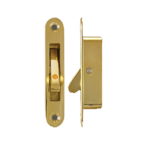 Polished Brass Angel Vent Lock