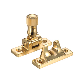 Brighton Sash Fastener Polished Brass