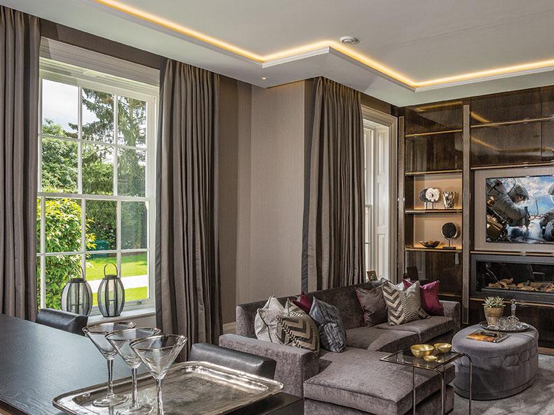 Sliding Sash Windows Luxury Interior