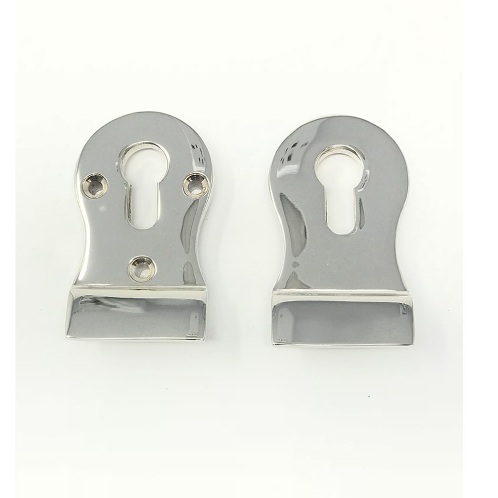 Euro Cylinder Pull Polished Nickel
