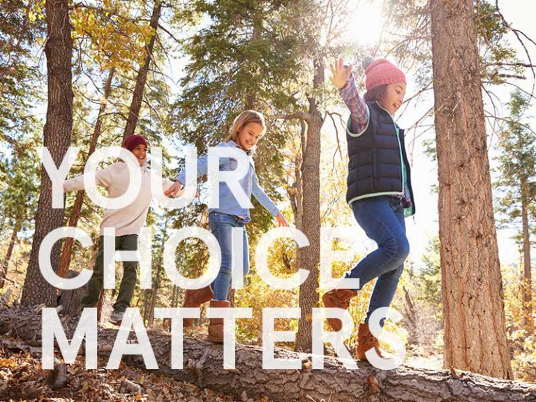 Your choice matters cover