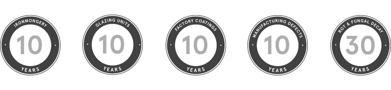 Bereco warranty logos