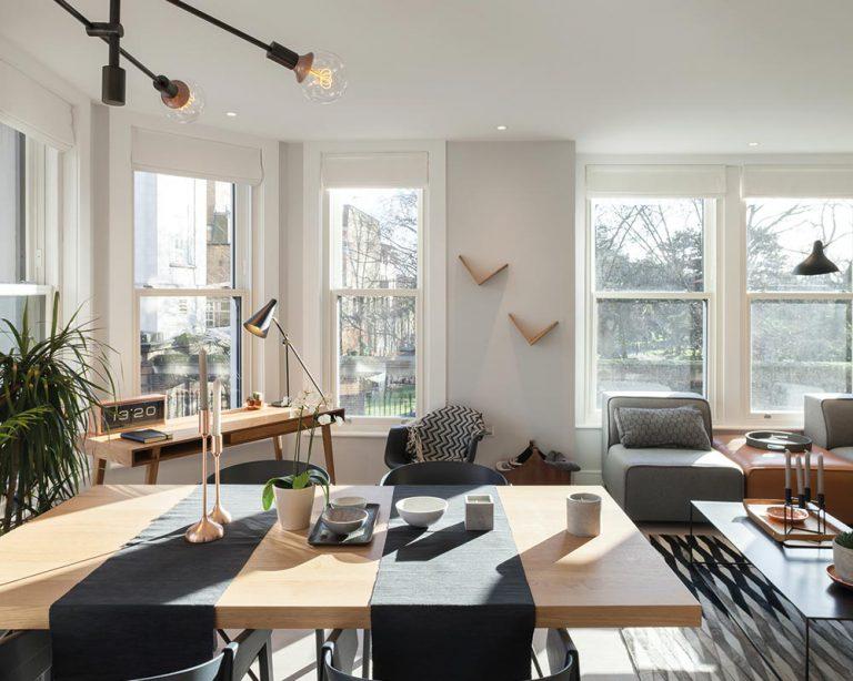 Acoustic Sliding sash windows for city living
