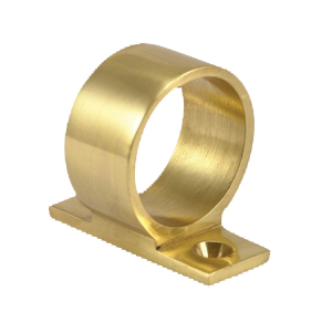 Sliding Sash Ring Lift Polished Brass