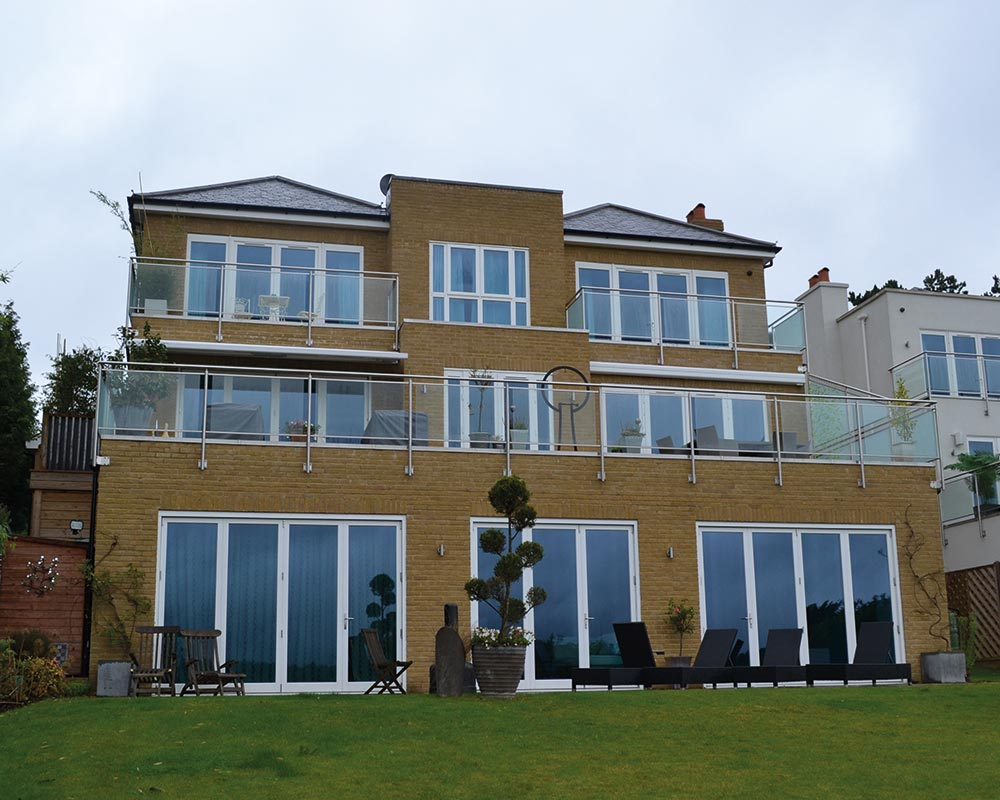tilt and turn windows and folding doors with solar glazing